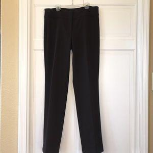 Talbots dark brown size 8 flat front slacks
